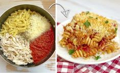 Chicken Parmesan Casserole, Easy Chicken Parmesan, Easy Chicken Dinner Recipes, Pasta Casserole, Breakfast Casserole, Sausage Breakfast, Baked Chicken, Quick Easy Dinner, Easy Family Dinners