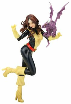 Amazon.com: Kotobukiya Marvel Comics X-Men Kitty Pryde Bishoujo Statue: Toys & Games