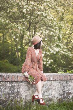 Smilingischic outfit  romantic mood orange and fluo