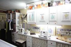 9 Ways to Decorate Your Sewing Room: See how our authors adorn their spaces.