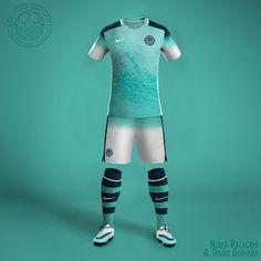 Spanish designer Nerea Palacios has created 22 unique Nike MLS Concept Kits. Sport Shirt Design, Sports Jersey Design, Sport T Shirt, Mls Soccer, Soccer Kits, Basketball Court, Football Shirt Designs, Football Shirts, Soccer Uniforms