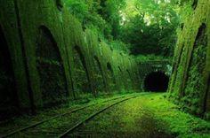 Os 33 lugares abandonados mais lindos que você já viu: Estrada de Ferro, França. Repinado de Climatologia Geográfica