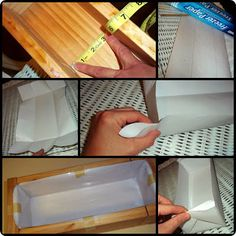 I'd Lather Be Soaping: How to Line a Wooden Soap Mold