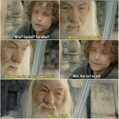 How inspiring this scene is !!! #LOTR #ROTK #Pippin #Pip #PeregrinTook #BillyBoyd @boydbilly #Gandalf #IanMcKellen @ianmckellen