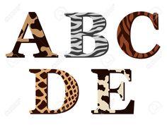 letras con animales a color - Buscar con Google