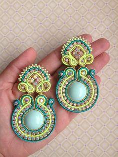 Soutache earrings!
