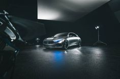 Come closer and indulge in the details of the Mercedes-Benz Concept A Sedan.
