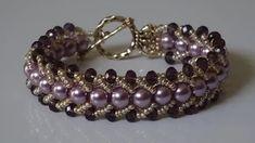 beaded bracelets for beginners - YouTube