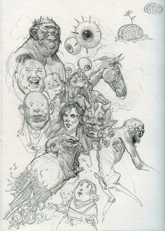 ArtStation - Sketches, Bartlomiej Gawel
