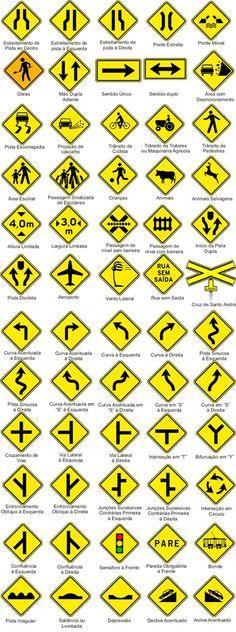 b40752e093546 As placas de trânsito são itens importantíssimos quando se fala em segurança  no trânsito, ...