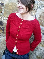 Ravelry: #22 Garter Yoke Cardigan pattern by Melissa LaBarre