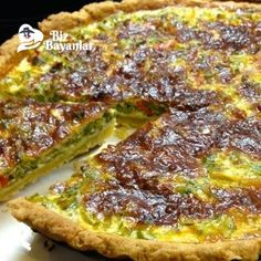 pirasali kis tarifi Quiche, Iftar, Easy Cooking, Vegetable Pizza, Ham, Side Dishes, French Toast, Recipies, Appetizers
