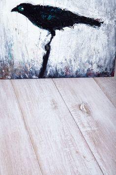 Antique Oak handscraped floor www.antiqueoak.pl