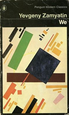 Yevgeny Zamyatin - We book cover / penguin modern classics