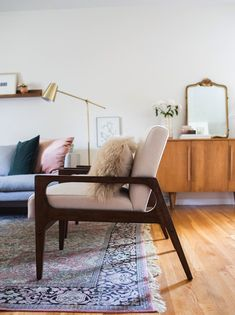 see more of this living room makeover