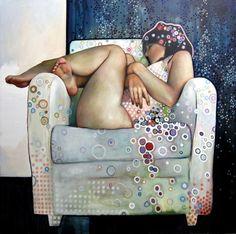me recuerda a Gustav Klimt
