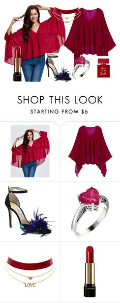 """""""Newchic"""" by jasmina-ishak ❤ liked on Polyvore featuring Jimmy Choo, Charlotte Russe, Lancôme and Bella Freud"""