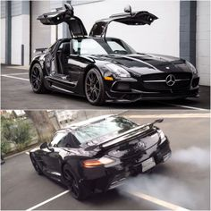 Mercedes-Benz SLS AMG Clearing Its Throat