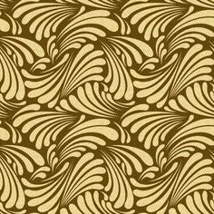 Art nouveau leaf curls pattern I created on Patterncooler.com - Have fun with this easy-to-use yet powerful free resource applying your own colors and textures to 10,000s of beautiful downloadable pattern designs. Whether you are a professional designer or just someone wanting a new background for your twitter profile, you may be very glad you stumbled on this unique project by Harvey Rayner