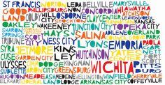 Kansas Word Art- Kansas Shirt- Kansas Sweatshirt- Kansas Hoodie- Word Art- I Love Kansas- Kansas Gift- Home Sweet Home- Custom Embroidery by ShesSewVain on Etsy