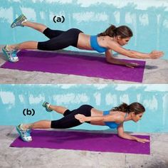 Jillian Michaels: 4 killer Ab exercises...going to incorporate these in for a change.