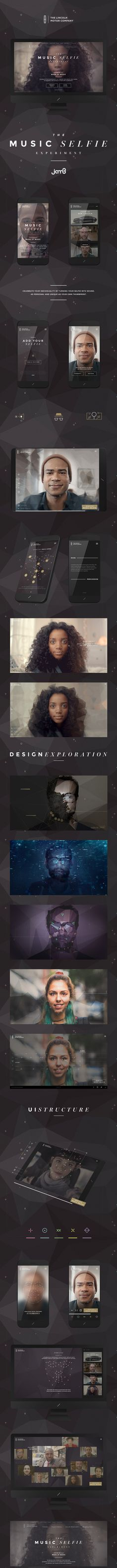 web design | Lincoln Motor — The Music Selfie Experiment || Weekly web design Inspiration for everyone! Introducing Moire Studios a thriving website and graphic design studio. Feel Free to Follow us @moirestudiosjkt to see more remarkable pins like this. Or visit our website www.moirestudiosjkt.com to learn more about us. #WebDesign #WebsiteInspiration #WebDesignInspiration ||