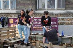 Septembre 2013 : Projet solidaire @Jesse Sison RockCorps #Rouen