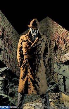 Top 10 Comic Book Anti-Heroes (Marvel & DC) - #3 Rorschach from The Watchmen