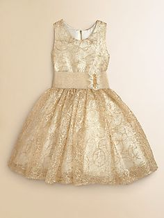 Zoe Girl's Sequin Gown