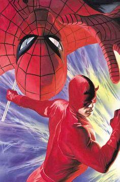 Spider-Man & Daredevil by Alex Ross