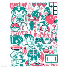 Let's play! By BlancaVidal, today at The Yetee!