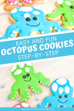 Party Cookies Recipe, Animal Cookies Recipe, Royal Icing Cookies Recipe, Keto Cookies, Fun Cookies, How To Make Cookies, Decorated Cookies, Cookie Recipes For Kids, Best Cookie Recipes