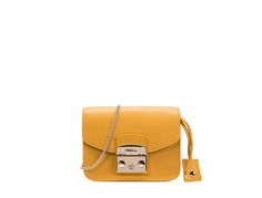 Yellow is the new black #bag  FURLA METROPOLIS