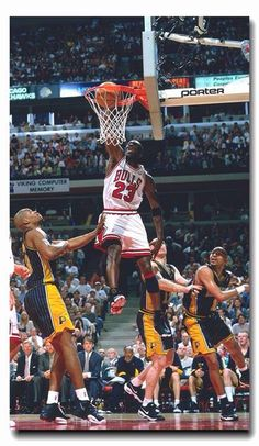 Michael Jordan - Chicago Bulls, 1984–1993, 1995–1998