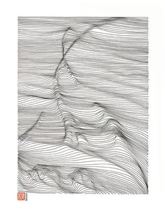 LINESCAPING INK DRAWING on Behance