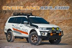 Mitsubishi Pajero Sport modified Expedition Trailer, Expedition Vehicle, Pajero Off Road, Rocky Series, Montero Sport, Mitsubishi Pajero Sport, Off Road Tires, Offroader, Bug Out Vehicle