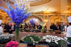 The Plaza Hotel Weddings | Fall/Winter Wedding | NY Weddings | Photography: Images by Berit | Flowers