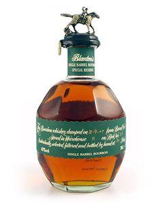 Blanton's Original. Cool PD. Barrel packaging for single barrel bourbon.