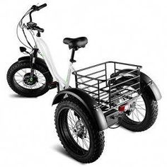 Goplus Electric Trike 20 Fat Tire Tricycle
