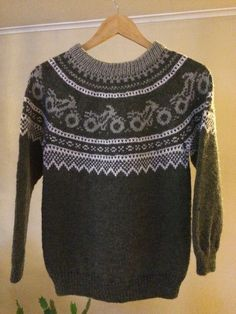 Sweater Knitting Patterns, Knit Patterns, Japanese Pancake, Knit Baby Sweaters, Blogging, Batman, Motorcycles, Templates, Image