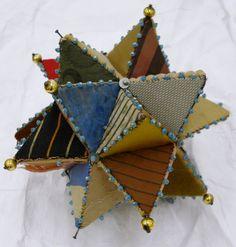 Victorian Patchwork Star Pincushion
