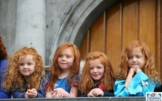 Am I in Ireland again.  Love those redheads!