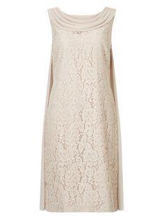 LACE DRAPE CAPE DRESS Cape Dress, Fashion Today, British Style, Elegant, Lace, Shopping, Wedding Ideas, Dresses, Home Decor