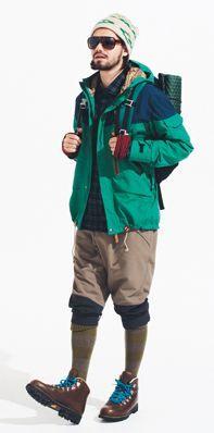 Mens Outdoor Fashion, Outdoor Men, Hiking Wear, Hiking Boots, Fashion Wear, Mens Fashion, Trekking Outfit, Hiking Fashion, Trail Blazers