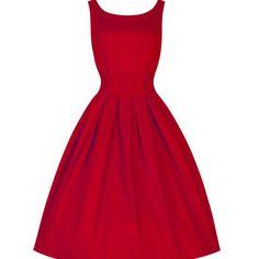 Solid Retro Women O-Neck Dress Dresses