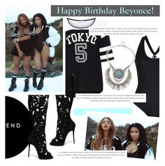 """Happy Birthday, Beyonce!"" by antemore-765 ❤ liked on Polyvore featuring Yoek, Sole Society, Giuseppe Zanotti and Nicki Minaj"