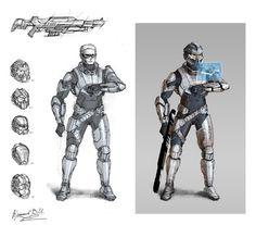 Sci-Fi Trooper Concept by AGRbrod.deviantart.com on @deviantART