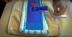 Cómo fabricar un recambio para la mopa con ClickClix  #DIY #DoItYourself