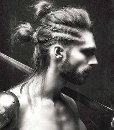 Men Hairstyles with Braids