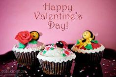 Happy Valentine's Day Cupcakes l @ Bakingdom